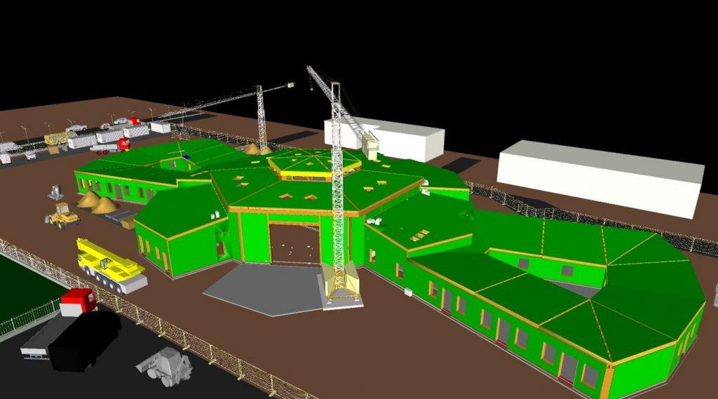 Modello BIM - 3D cantiere