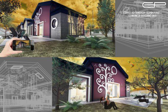 Quartiere Residenziale nZEB con Ville PABLOK